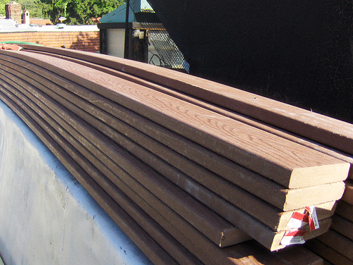 Cheap decking boards composite decking boards home for Composite decking boards