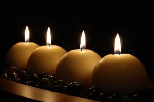 Black Candles Black Taper Candles Home Bedroom Decor