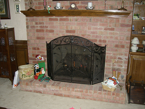Fireplace Screens | Fireplace Screen | Home Bedroom Decor