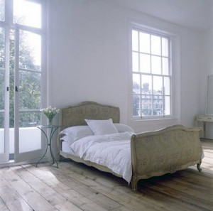 white walled room